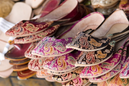 slippers chatuchak weekend market bangkok thailand
