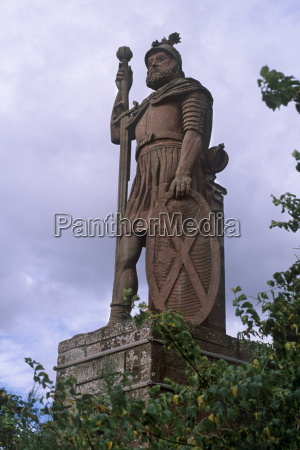 statue of william wallace national hero