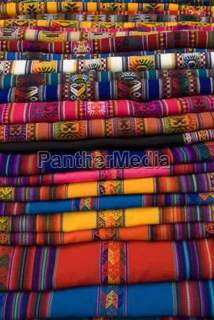 textiles for sale in the market