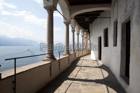balcony of the santa caterina monastery