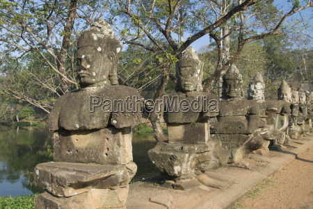 south gate angkor thom angkor archaeological