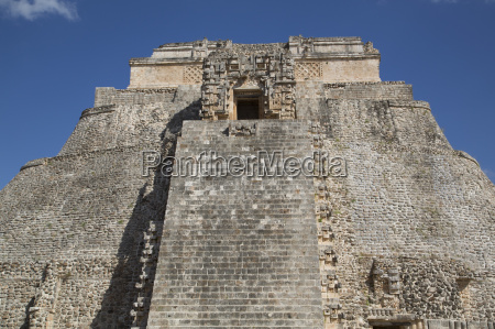 pyramid of the magician uxmal mayan