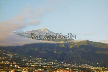 pico del teide and orotava valley