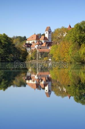 st mang monastery and basilica reflected