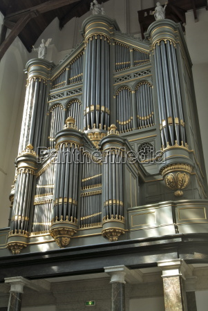 organ oude kirk old church delft