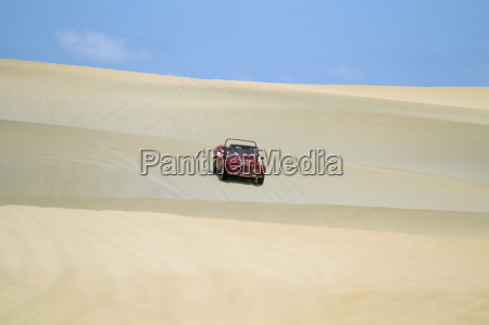 dune buggy on sand dunes pitangui
