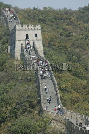 the great wall at mutianyu unesco