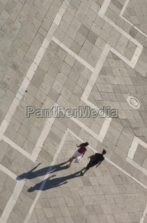 tall shadows san marco sq venice