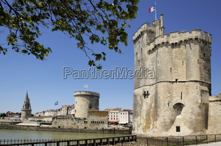 view of the three towers at