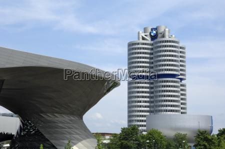 bmw welt and headquarters munich munchen