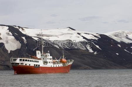antarctic dream ship telephone bay deception