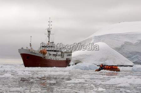 antarctic dream ship paradise bay antarctic