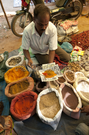 spice stall at desia kondh tribal