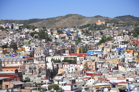 overview colonial architecture guanajuato unesco world