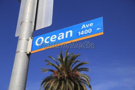 ocean avenue santa monica los angeles