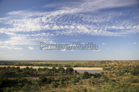 mapungubwe national park confluence viewpoint overlooking