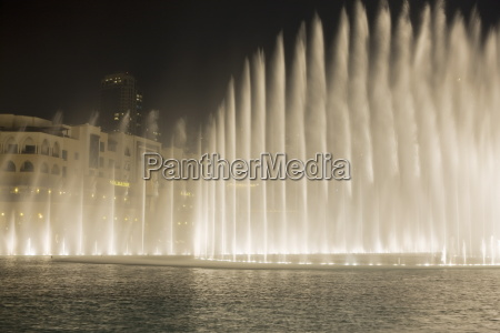 the dubai fountain the largest of