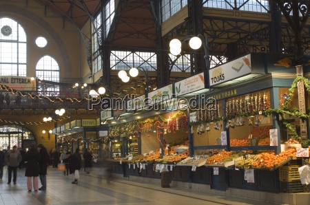 fruit food stands at central market