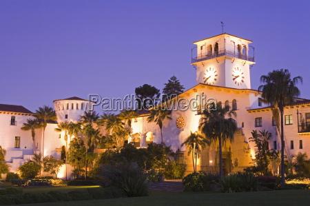 santa barbara county courthouse santa barbara