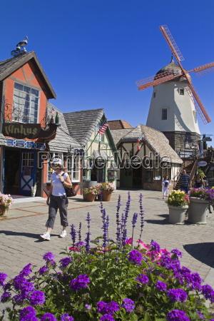 windmill on alisal road solvang santa