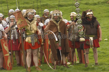 ermine street guard at ease with