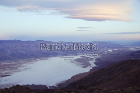 suise over badwater and the panamint