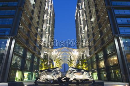 bull statue designed by li keren