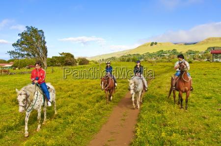 horseback riding at parker ranch the