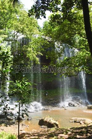 ngardmau waterfalls koror republic of palau