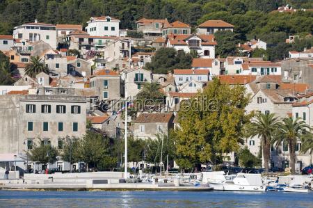 the riva in split dalmatian coast