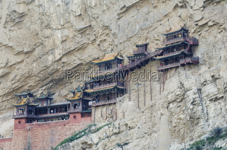 the hanging monastery dating back more