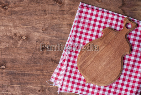 empty kitchen board for cutting on