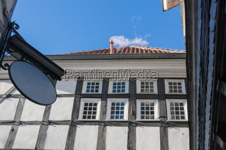 half timbered house in hattingen