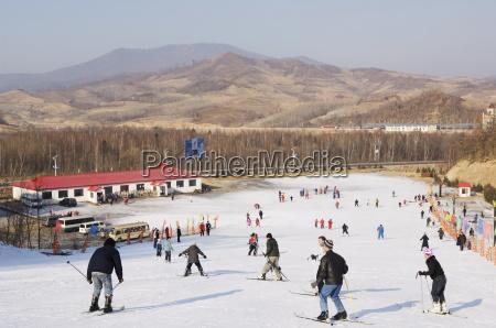yabuli ski resort heilongjiang province northeast