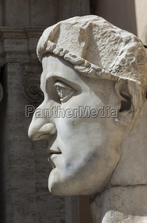 head of constantine 1 dated ad