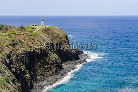 historic kilauea lighthouse on kilauea point
