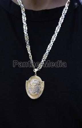 jesus medal lourdes hautes pyrenees france