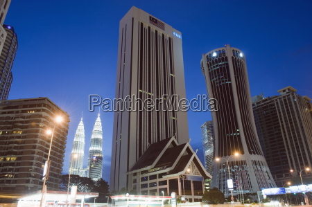 petronas towers and tabung haji building