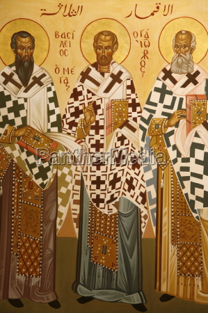 melkite icon of doctors of the