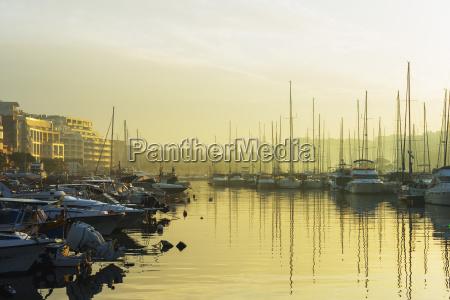 msida creek harbour valletta malta mediterranean