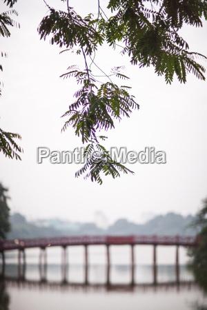huk bridge hanoi vietnam indochina southeast