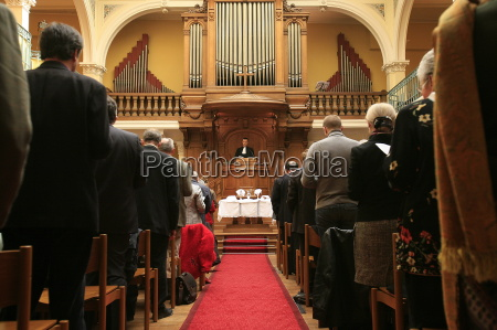 protestant service united reformed church paris
