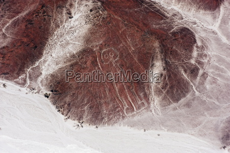 spaceman lines and geoglyphs of nasca