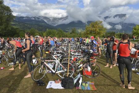 changeover station passy triathlon passy haute
