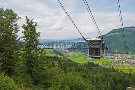 cabrio cable car to stanserhorn the