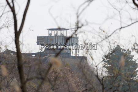 border watch tower dmz demilitarized zone
