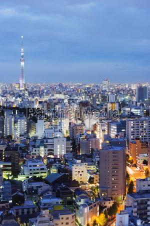 tokyo skytree tokyo honshu japan asia