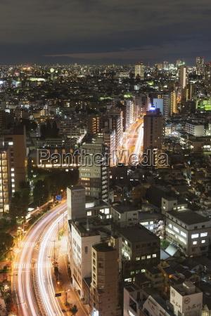 city skyline ikebukuro tokyo honshu japan