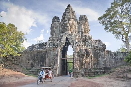 north gate angkor thom angkor unesco