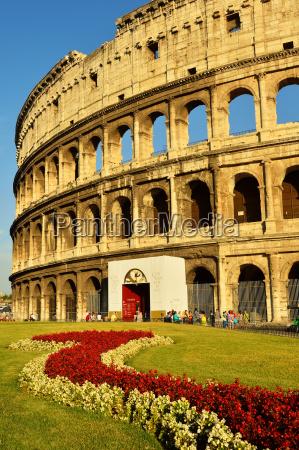 colosseum unesco world heritage site rome